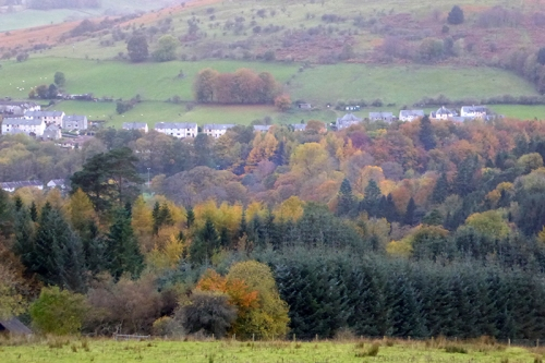 Langholm in autumn