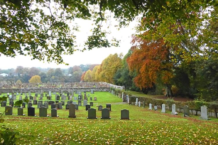 Canonbie churchyard