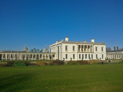 The Queen's House, refurbished and recently re-opened, Greenwich