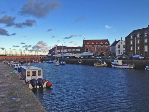 North berwick harbour