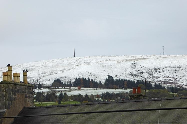 Snow on Whita