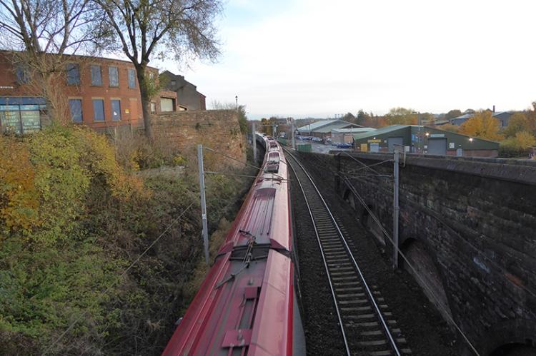 Main line train Carlisle