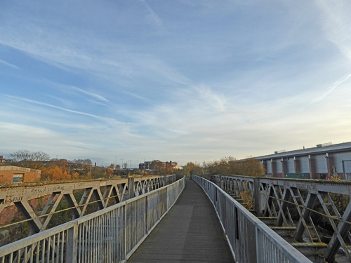 Cycle path bridge Carlisle