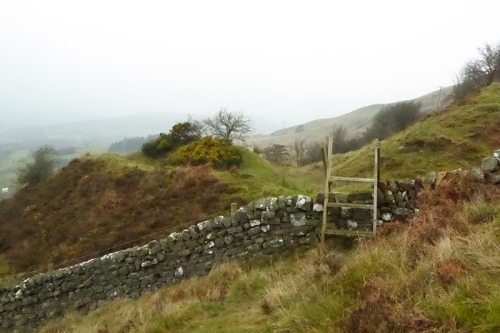 stile at Whita quarry