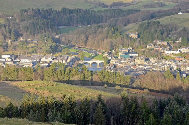 Langholm from Warbla
