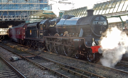 steam train Carlisle