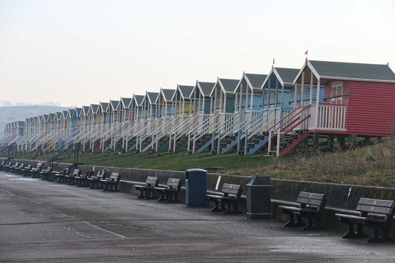 beach huts sheppey