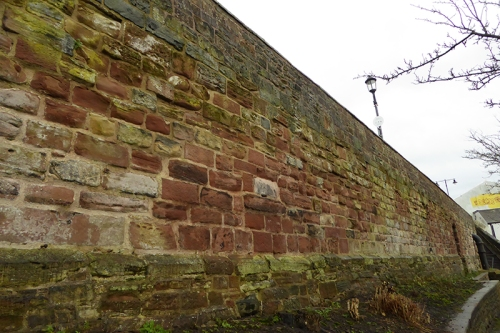 Carlisle city walls
