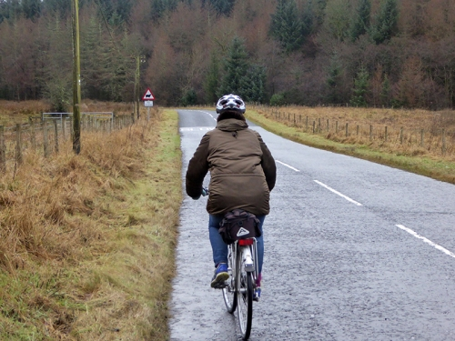 Annie cycling