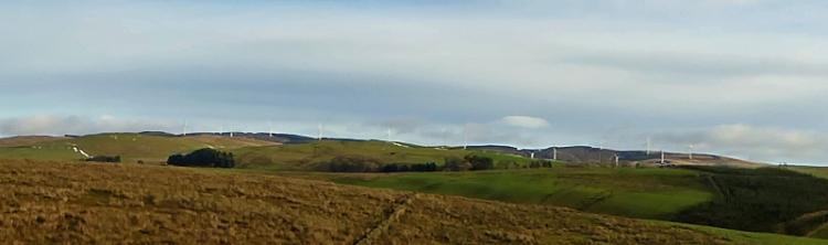 Ewe Hill windfarm