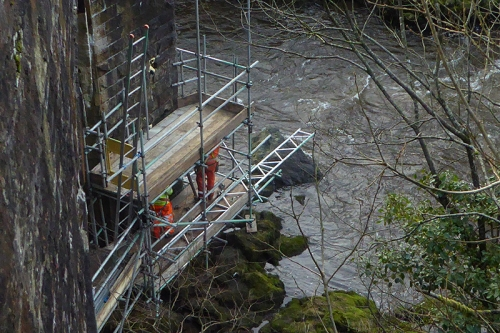 skippers bridge scaffolding