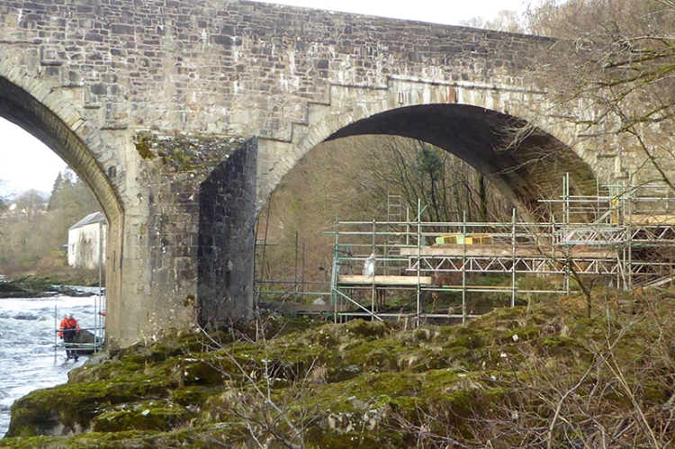 skippers bridge scaffolding