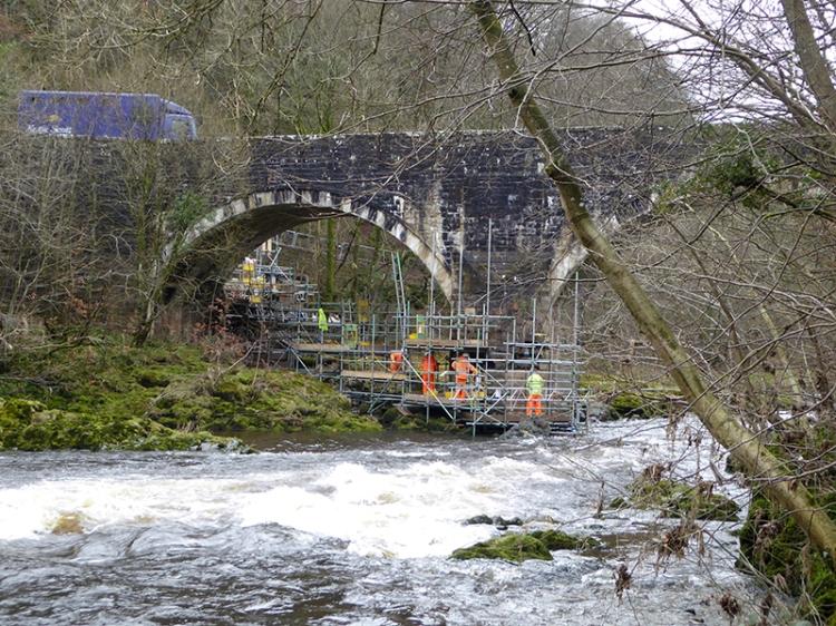 Skippers Bridge repair
