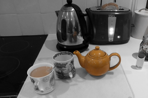 tea pot single colour