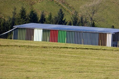 shed beside Kirk Wynd