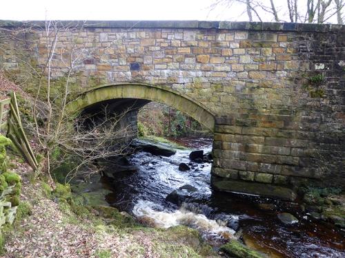 Irvine Burn bridge