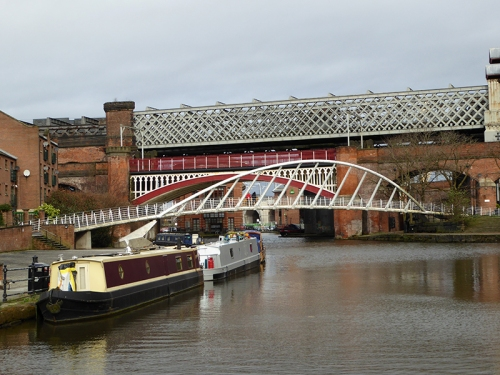Manchester canal bridges