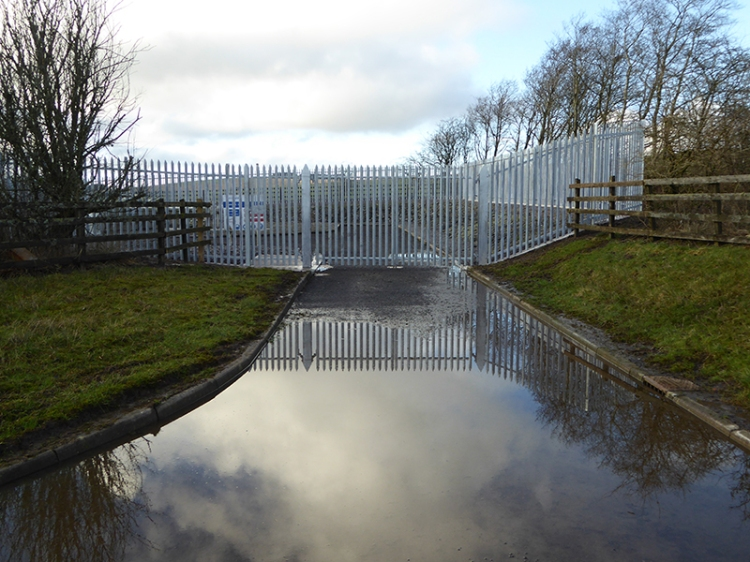 gas valve puddle
