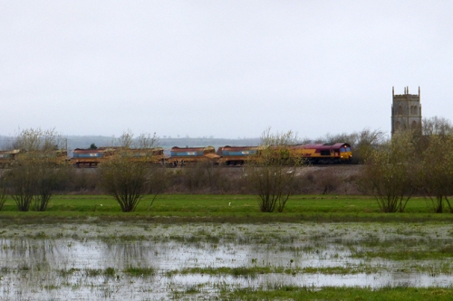 East Lyng train