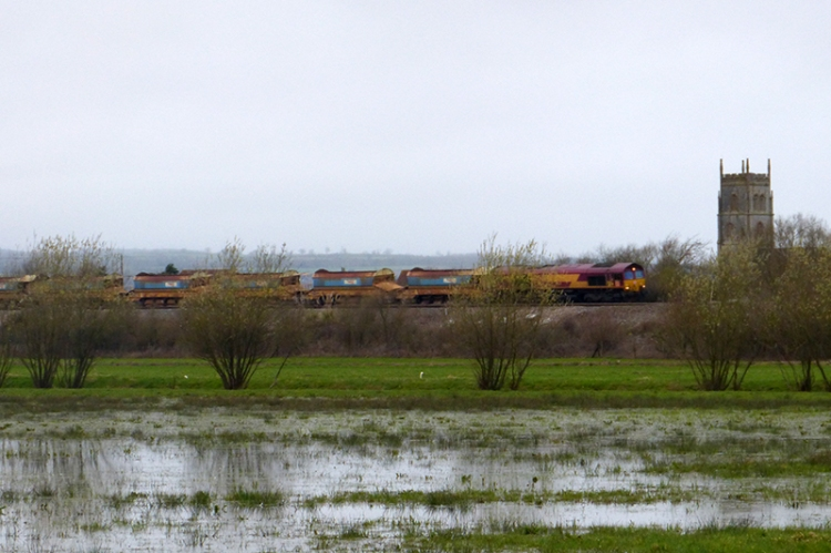 East Lyng train