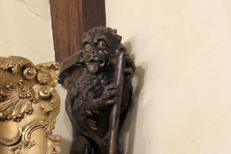 Guildhall carving