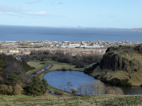 Dunsappie loch and North Berwick