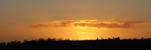 Longtown sunset
