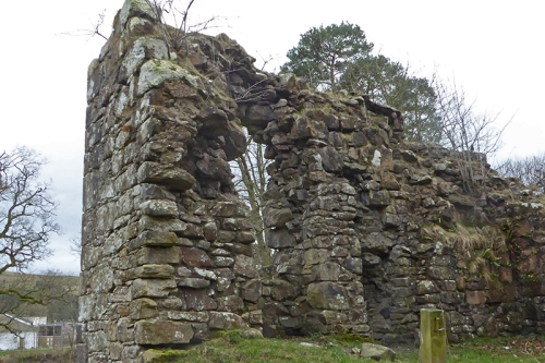 Langholm Castle.