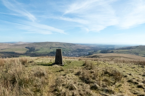 Timpen trig point