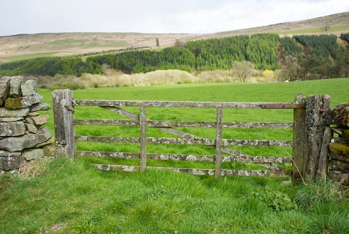 Pathhead gate