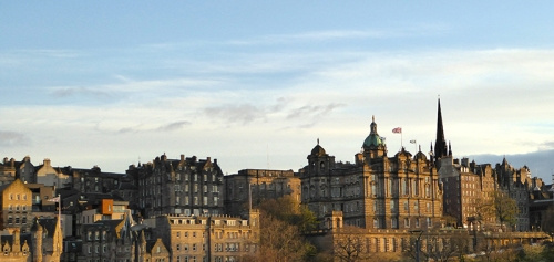 view from Princes Street