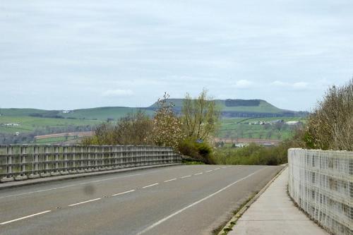 motorway and roman camp