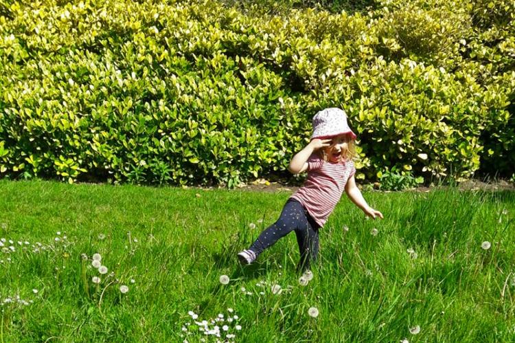 Matilda in the Botanics