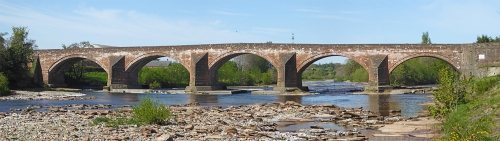 Longtown Bridge 2017 photomerge