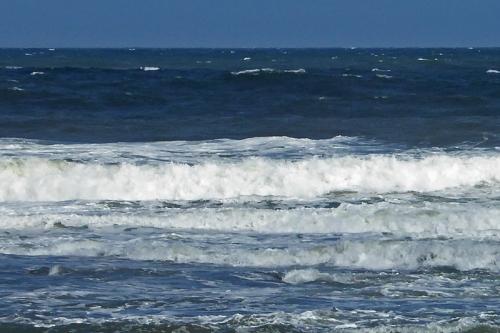 North Berwick waves