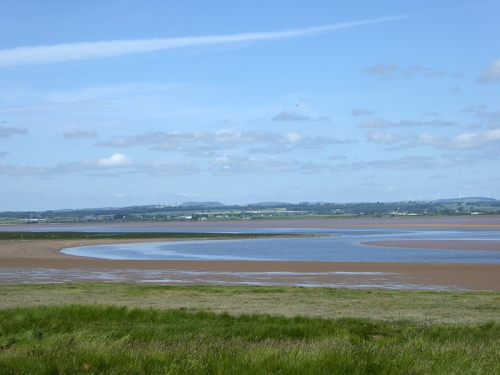 Solway tide out