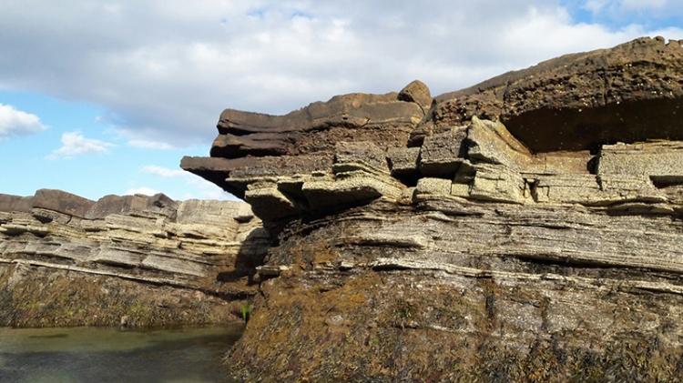 Anstruther rocks