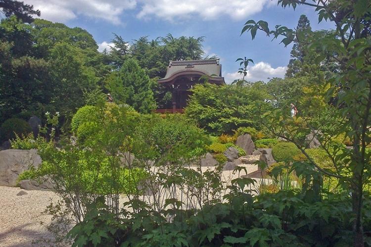 Japanese garden Kew