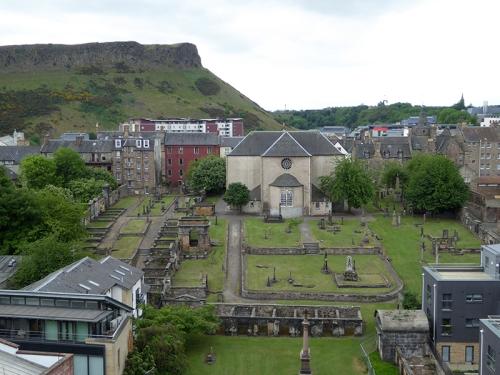 Edinburgh burial ground