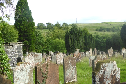 Wauchope graveyard and Warbla in the background