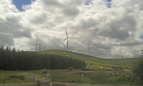 Clyde Farm windmills