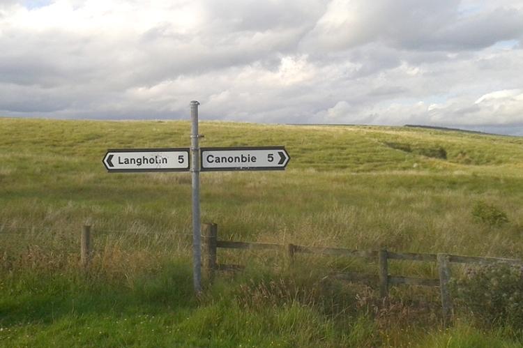 Kerr road sign