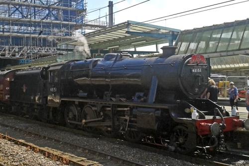 The Dalesman steam engine
