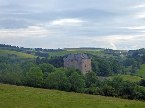 Castle near Gorebridge