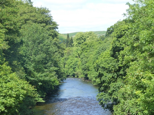 River Esk above Jubilee Bridge