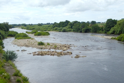 The River Esk at Longtown