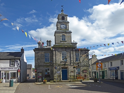 Town Hall bunting.