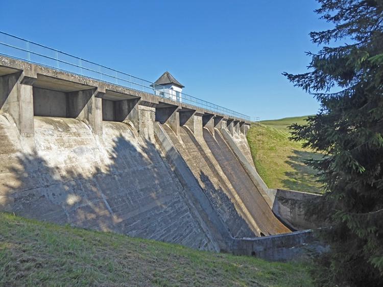 Winterhope reservoir dam