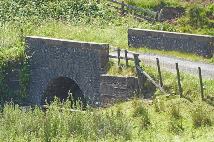 little bridge on Bailliehill road