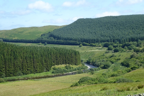 Esk valley at Bailliehill